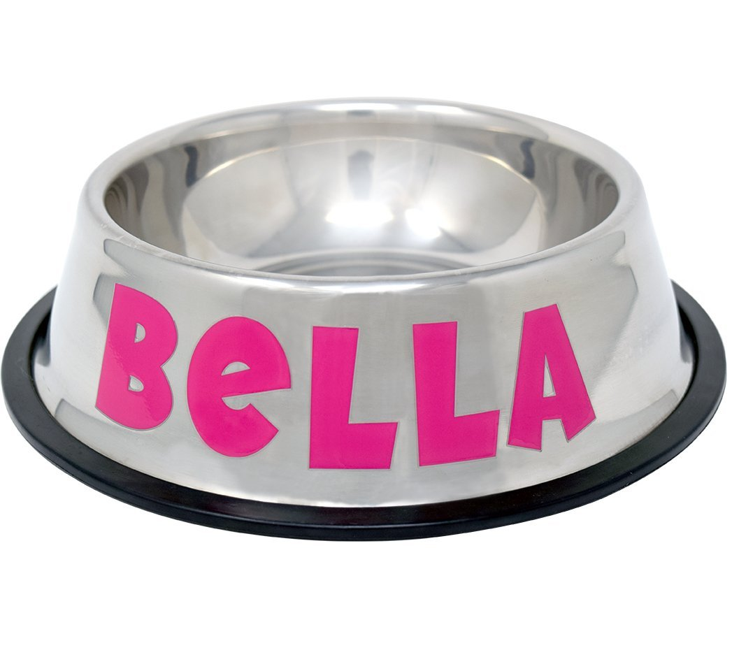 GPET Personalized Dog Bowl –Customizable Pet Name 3D Print